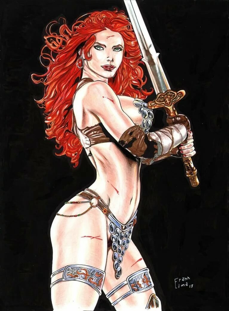 Red sonja tits myvideo — photo 8