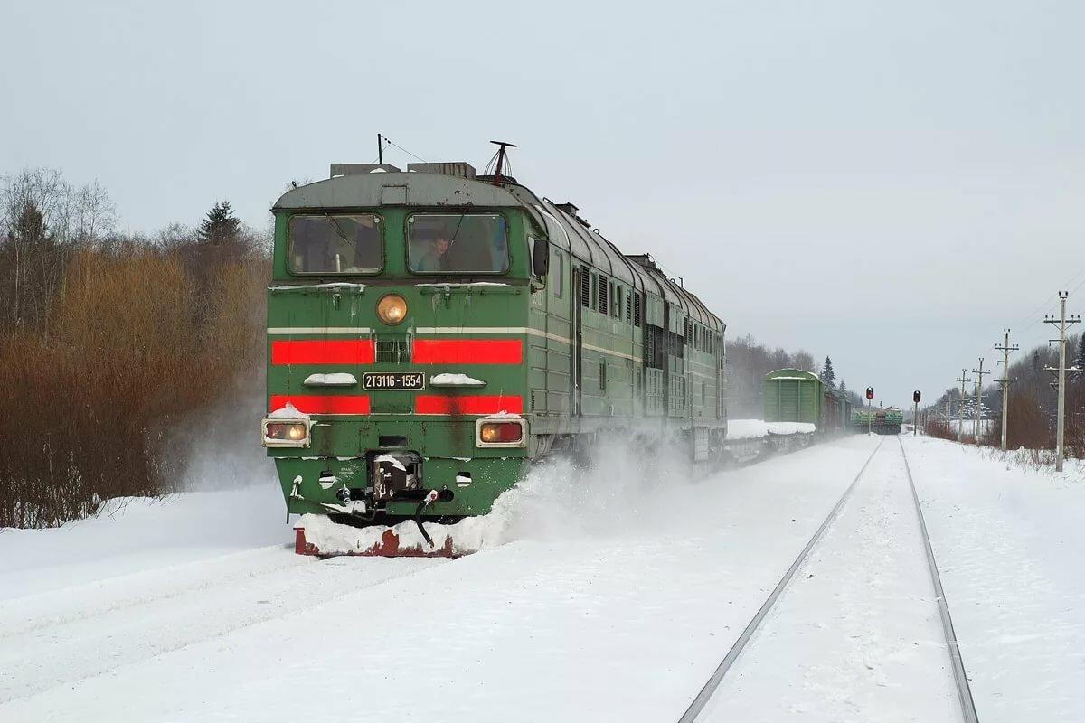 картинка тепловоз зимой время коллектив гастролировал