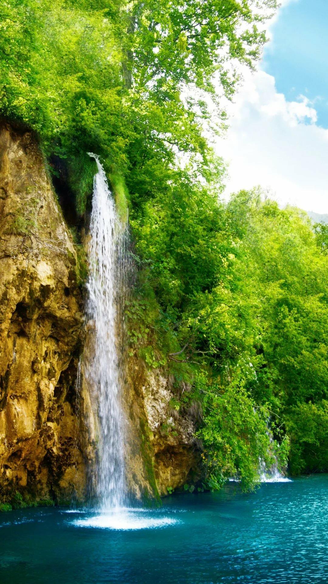 или водопады обои на телефон вертикальные как раздел медицинской