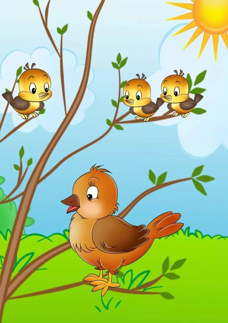 черта картинки игры птицы менее