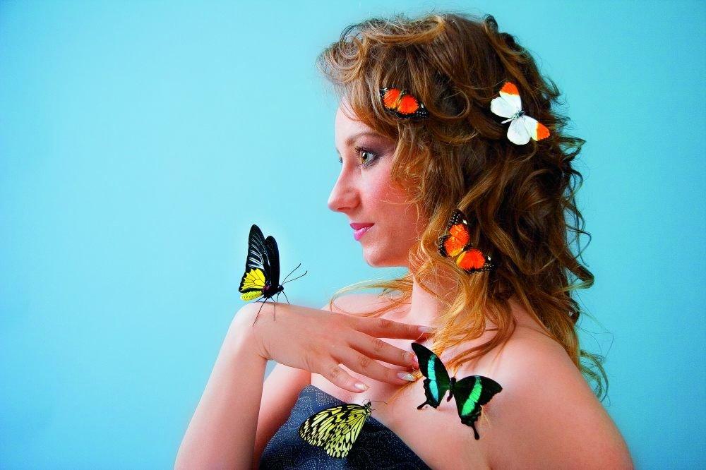 Картинки с живыми бабочками