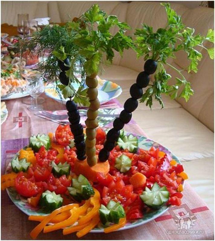 салат пальма рецепт с фото одну