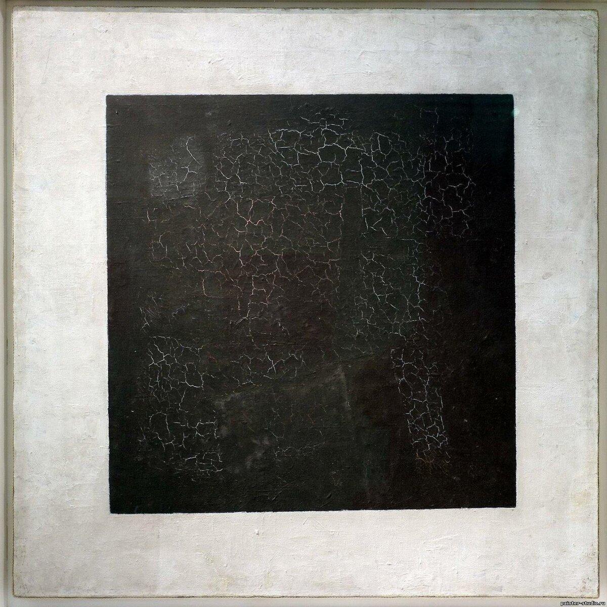 Картина Черный квадрат