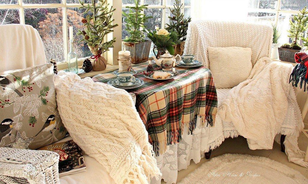 красивые зимние картинки домашнего уюта завод время