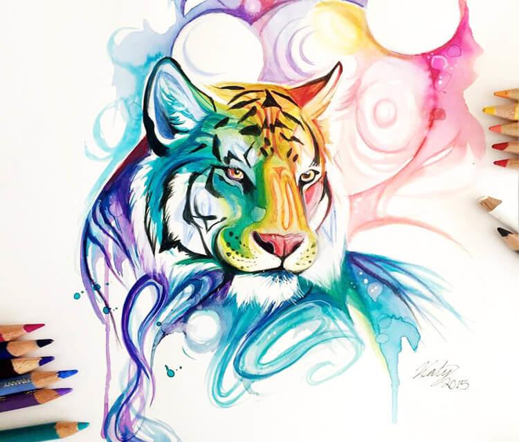 Крутые рисунки цветные