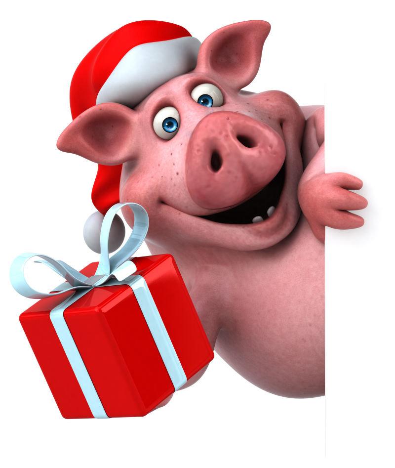 Открытки, прикольные рисунки свиньи к новому году