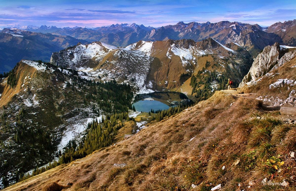 осень в горах  #E_Wymann Автор фото: E.Wymann