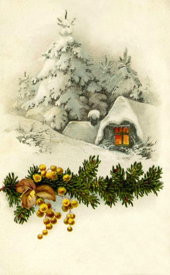 Новогодние картинки открытки для декупажа, лето картинка поздравительные