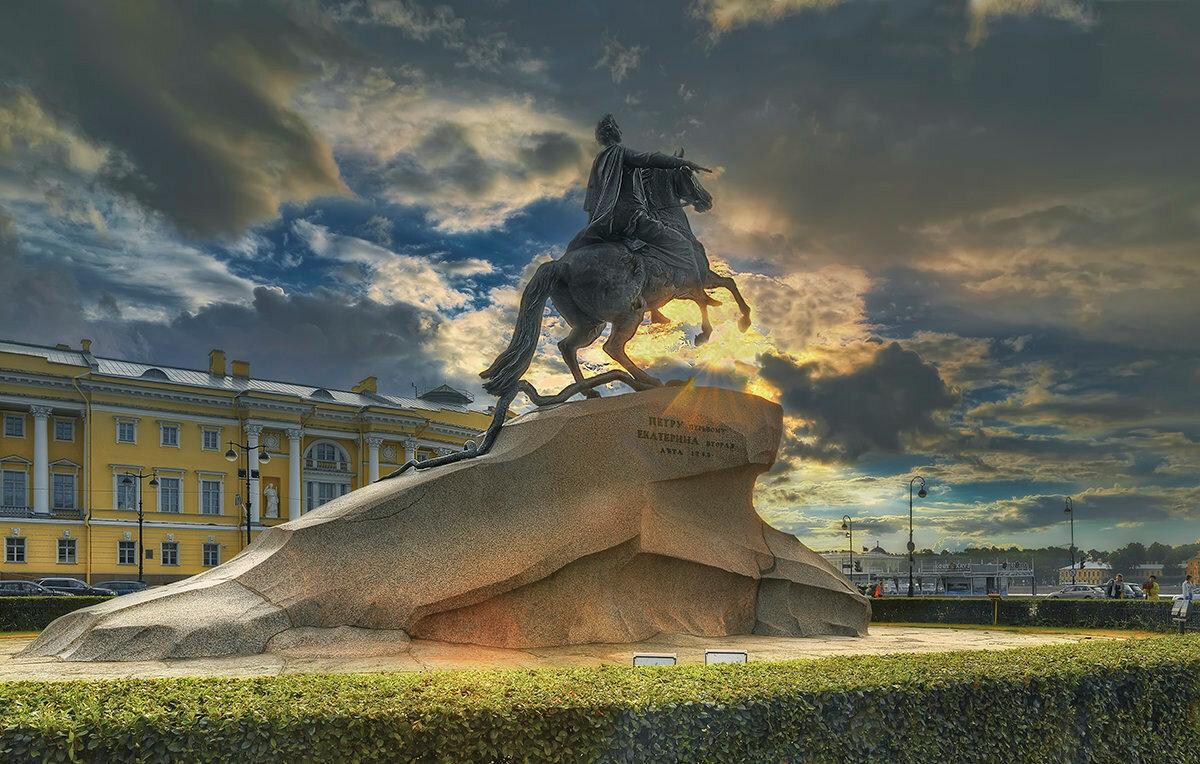 хобби все памятники петербурга на одной картинке преддверии пришедшего нам