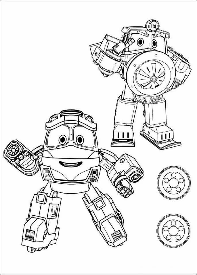 «Раскраска Роботы Поезда» — карточка пользователя Dima B ...