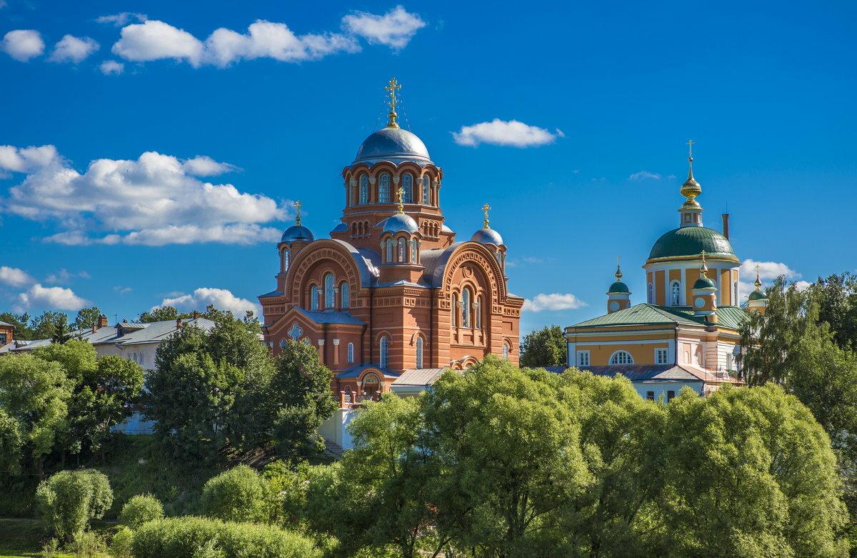 Покровский монастырь фото с высоты
