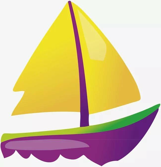 Золотой кораблик картинка для детей