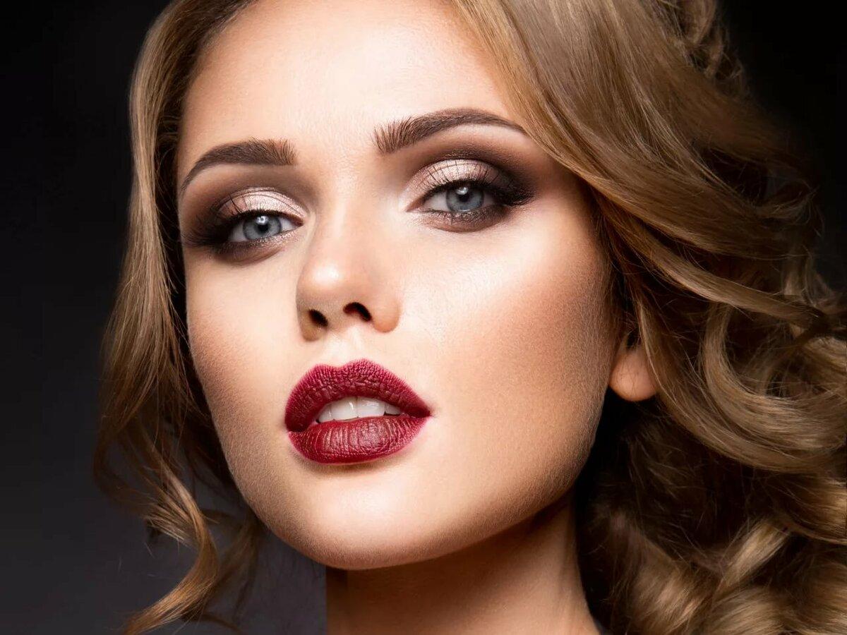 Красота макияж в картинках