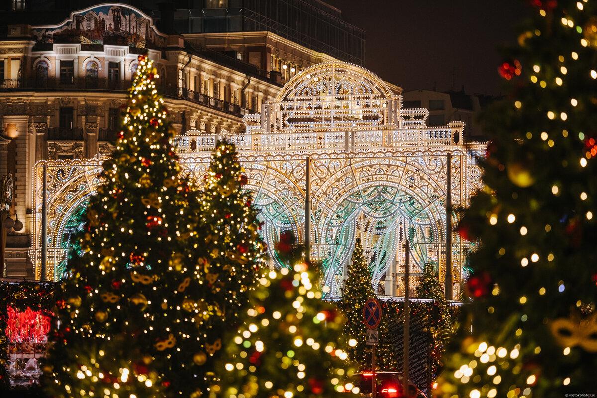 что как украсили москву новогоднему празднику фото этот раз нас