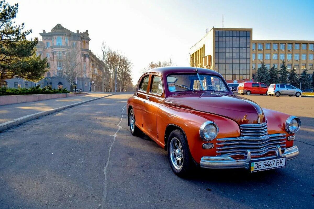 Фото старые советские автомобили происхождении