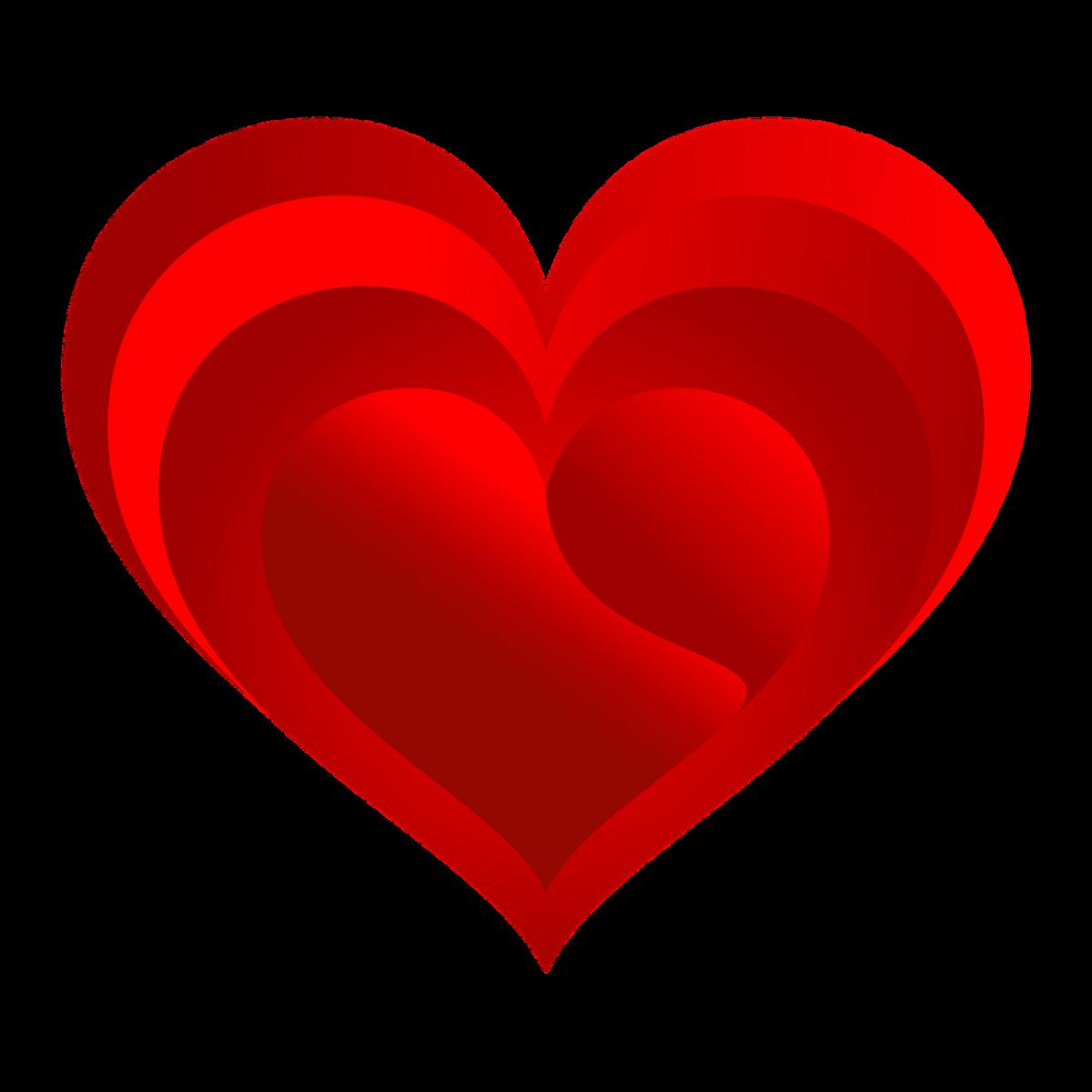 Картинки сердца для детей на прозрачном фоне