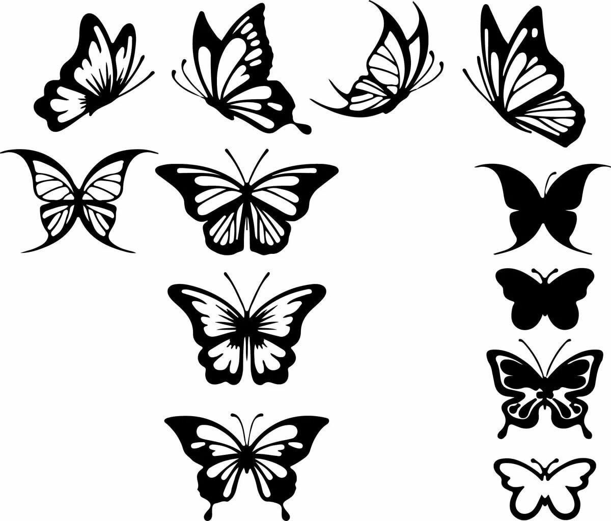 Красивые картинки для украшения комнаты распечатать, черно белые для