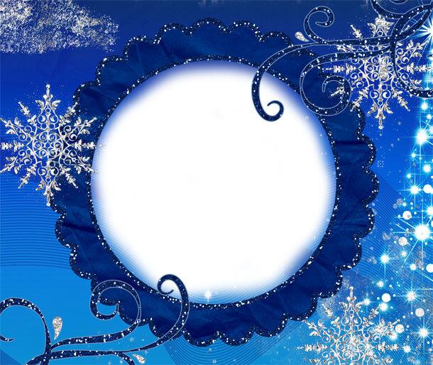 Зимние открытки для фотошопа