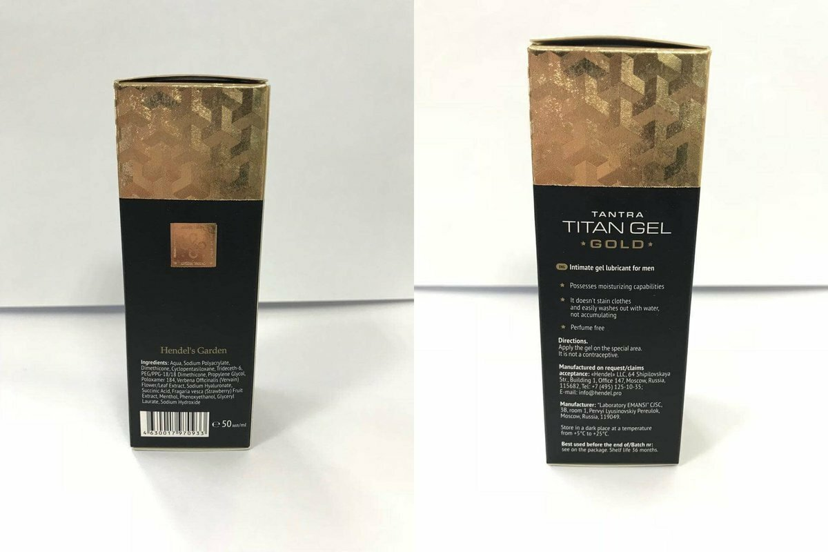 Titan Gel Gold - мужской крем в Санкт-Петербурге