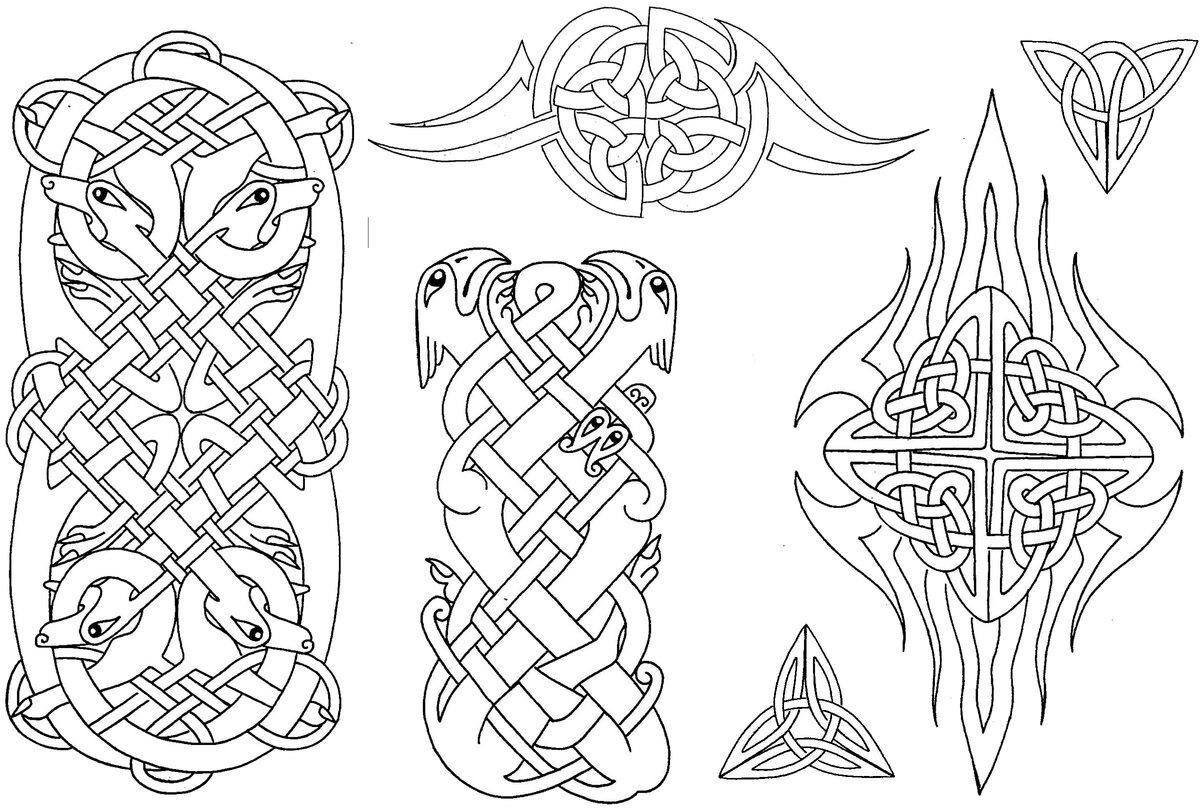 компании кельтский рисунок картинки птицы разным