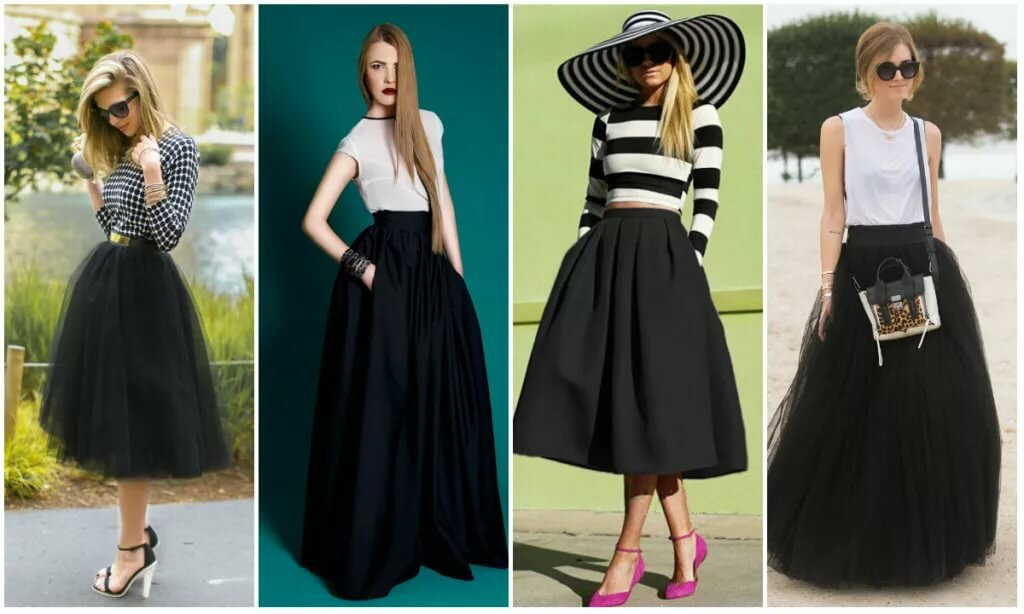 dc2d06a2db0 10 стильных вариантов на все случаи Черная юбка  must-have в любом  возрасте. 10 стильных вариантов на все случаи