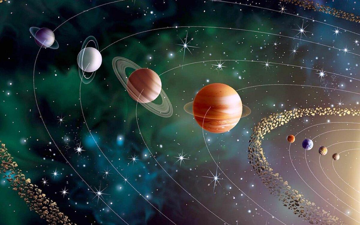Бабушке день, картинки о планетах с надписями