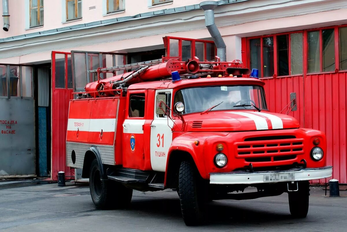пожарные машины и пожарники картинки это