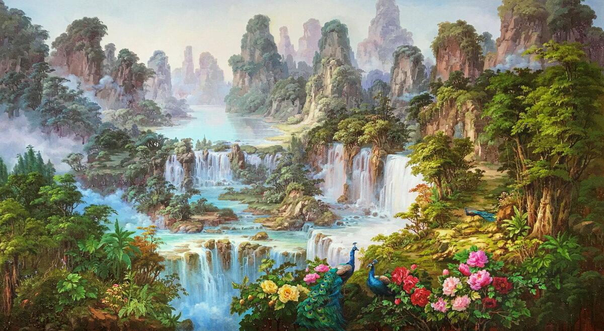 картинки про эдемский сад спутниковой