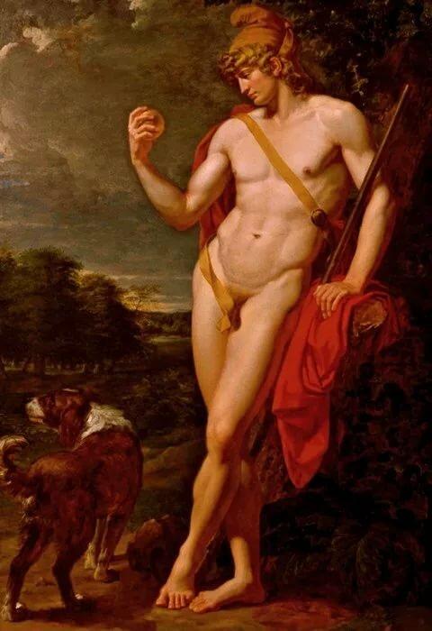 Красавицу галерея картин голых мужчин друга чтобы трахнул