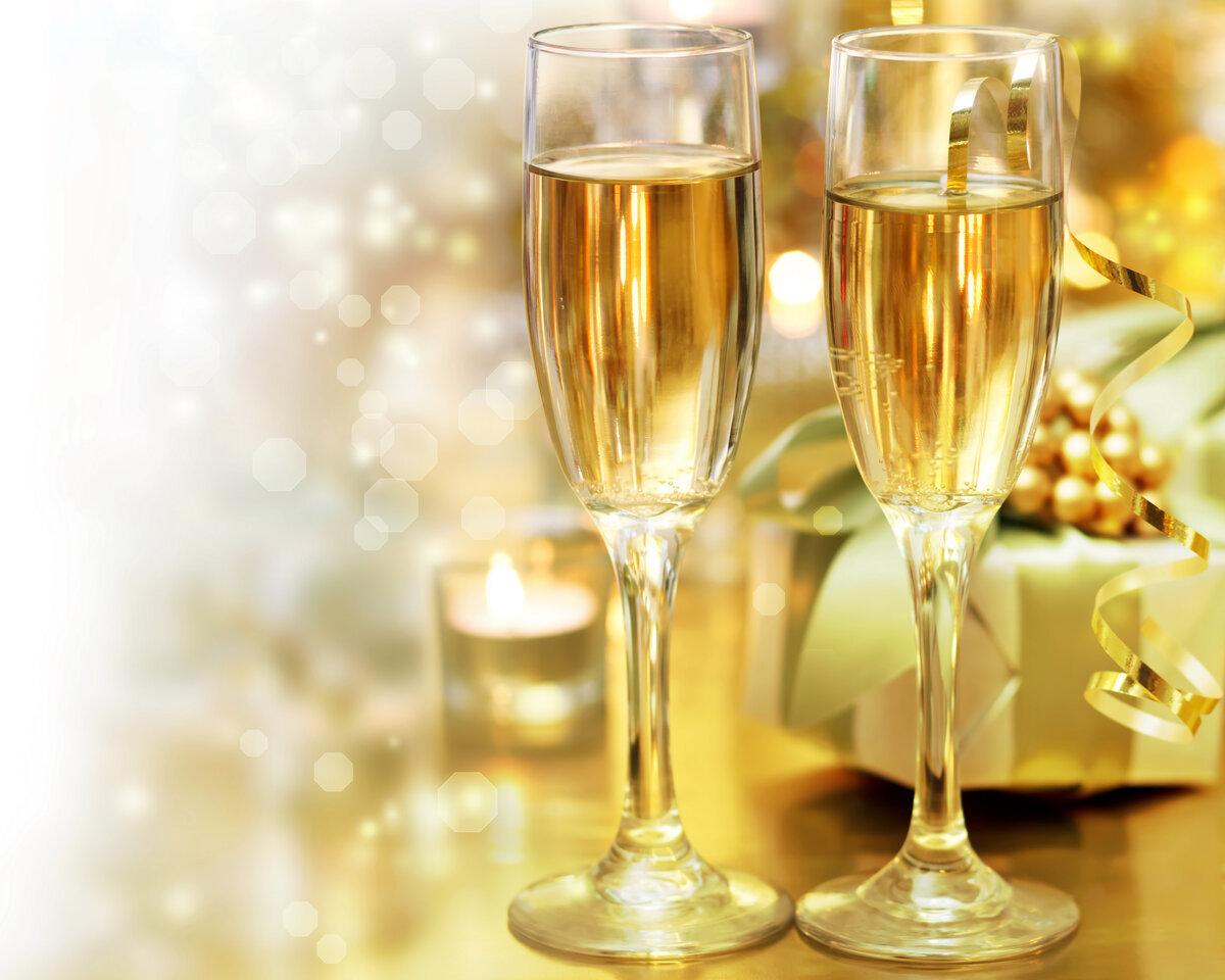 Картинки бакал шампанского