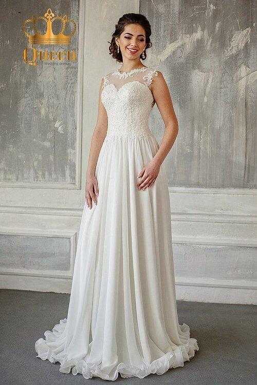 dbc734b25a39d4b Цена в Свадебное платье Иоанта Queen в греческом стиле, цвет Ivory  (молочный). Цена в