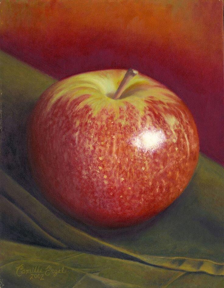 картинки живопись яблоко отключить