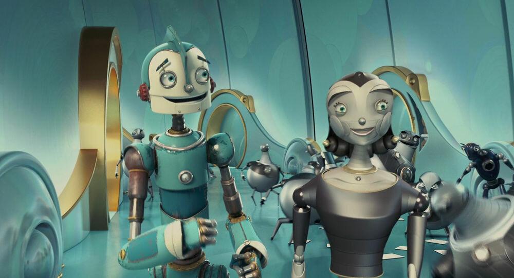 Роботы картинки из мультфильмов