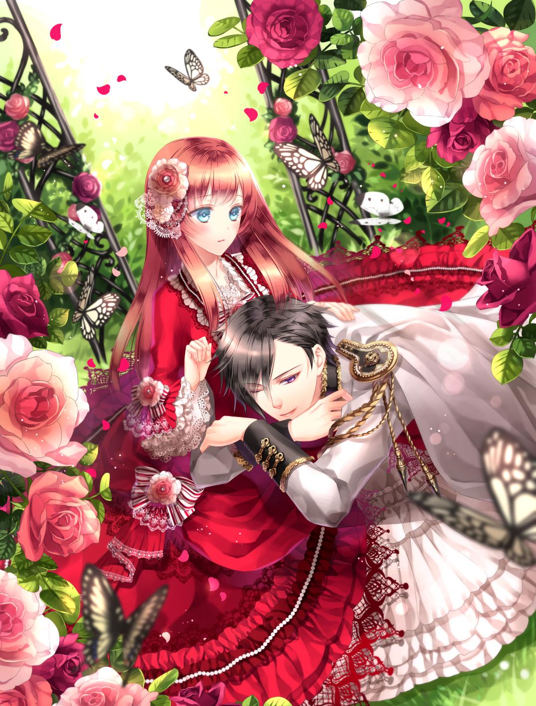 Анем картинки розы