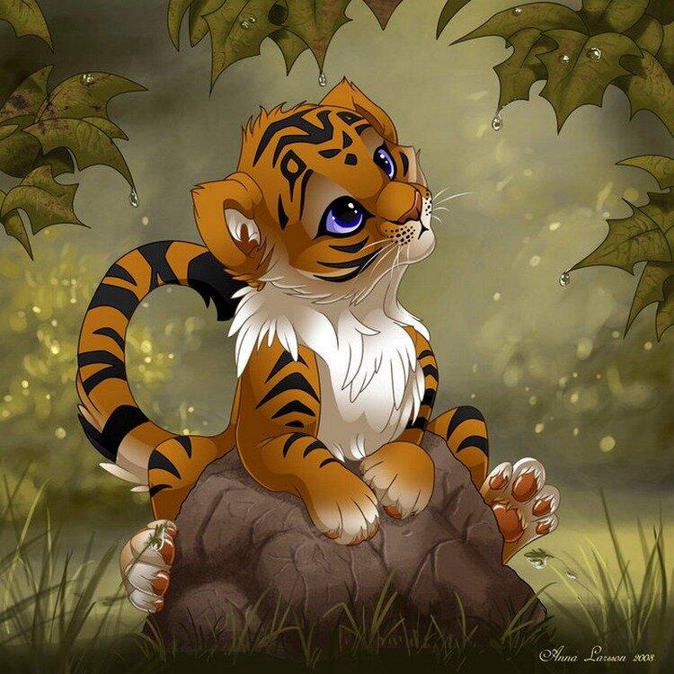 мультяшные тигры картинки не для тебя техническому