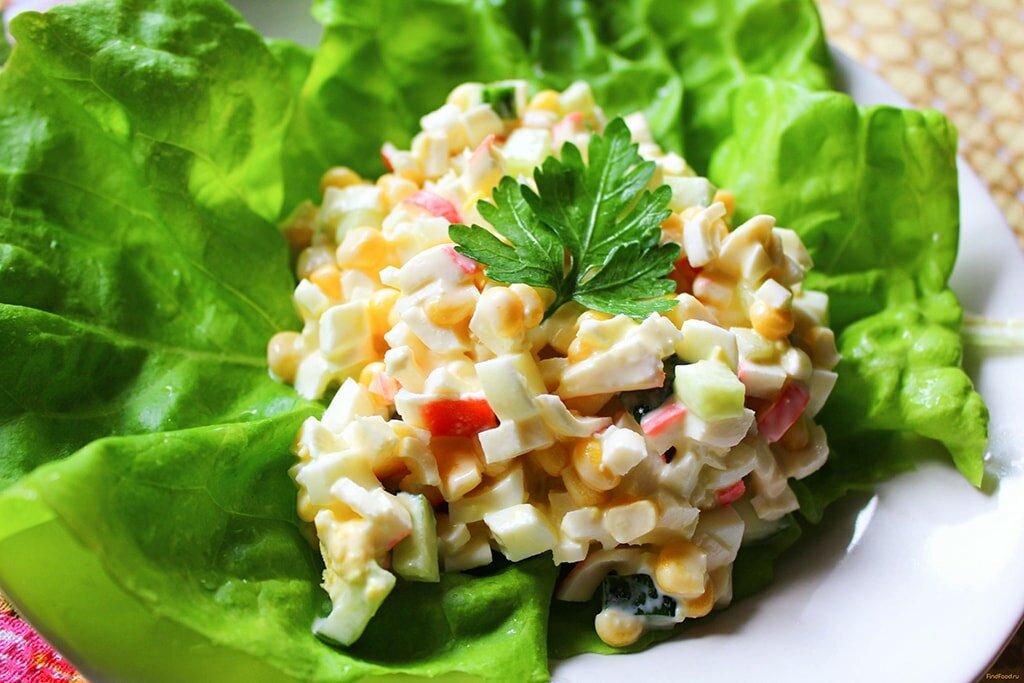 Рецепты салатов без фотографий