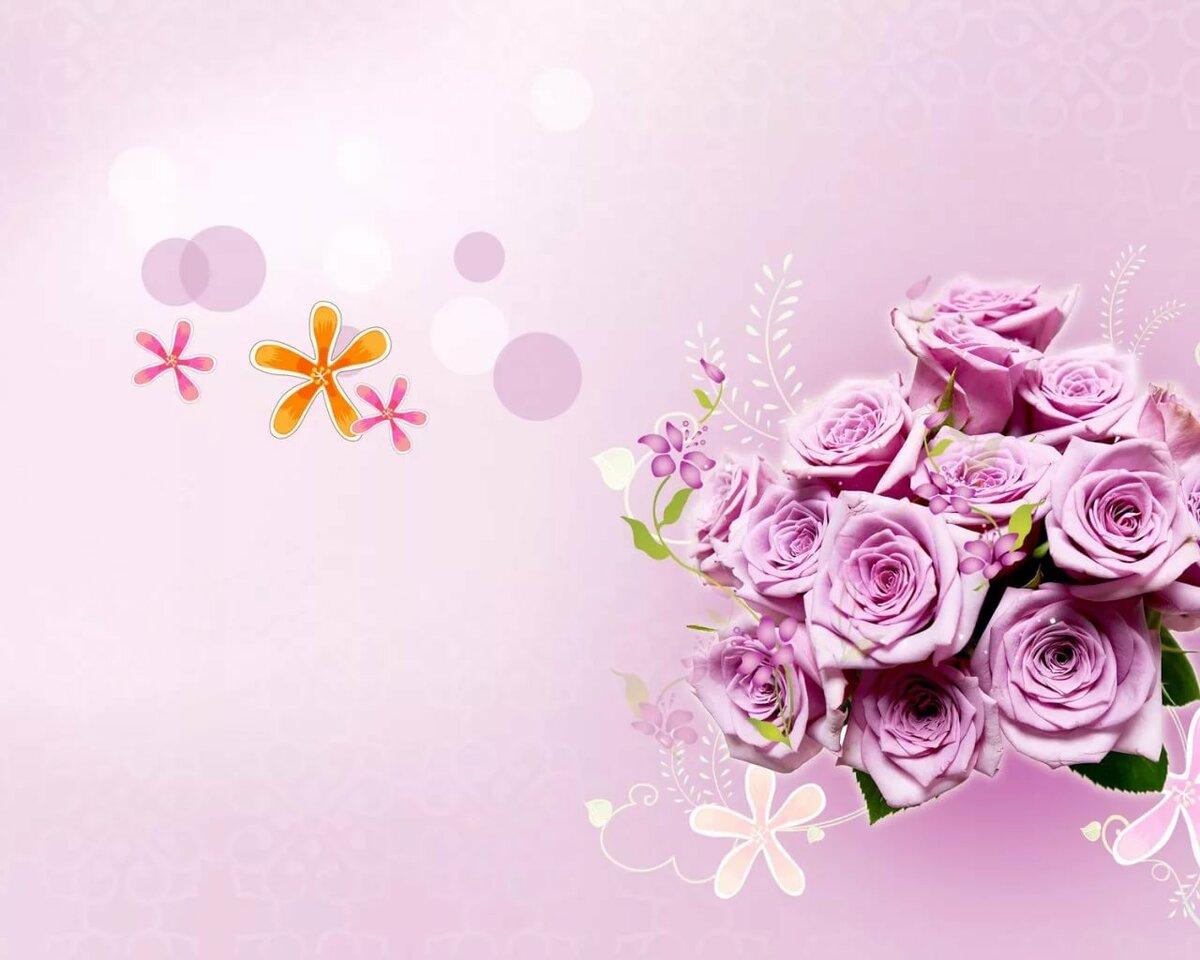 Открытки с цветами поздравлений