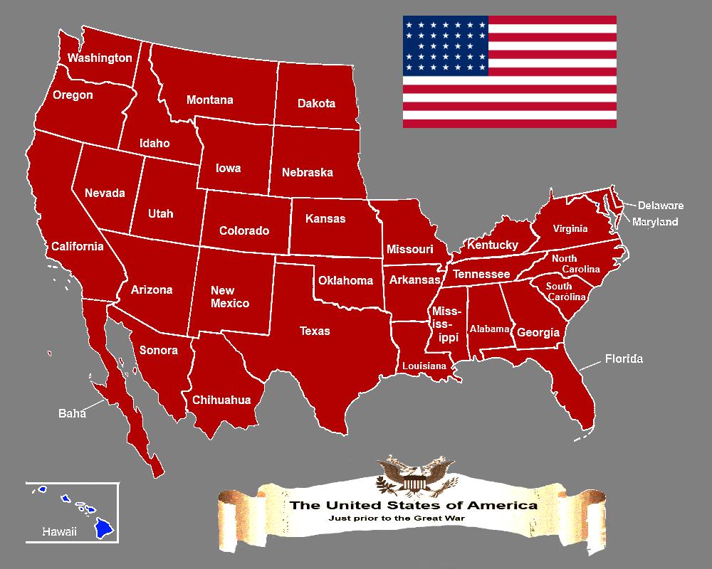 картинка карта сша решению разводе