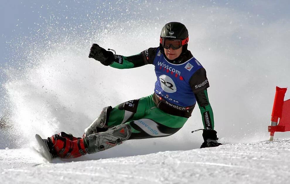 Фотографии зимних видов спорта