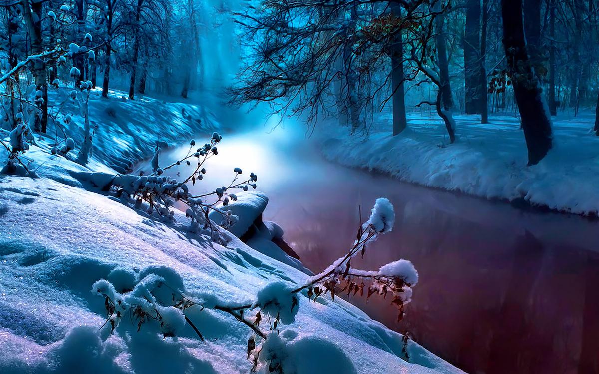 картинка с зимней тематикой на рабочий стол
