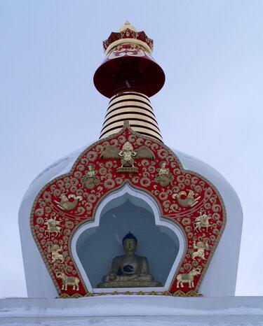 буддийская ступа отрадное