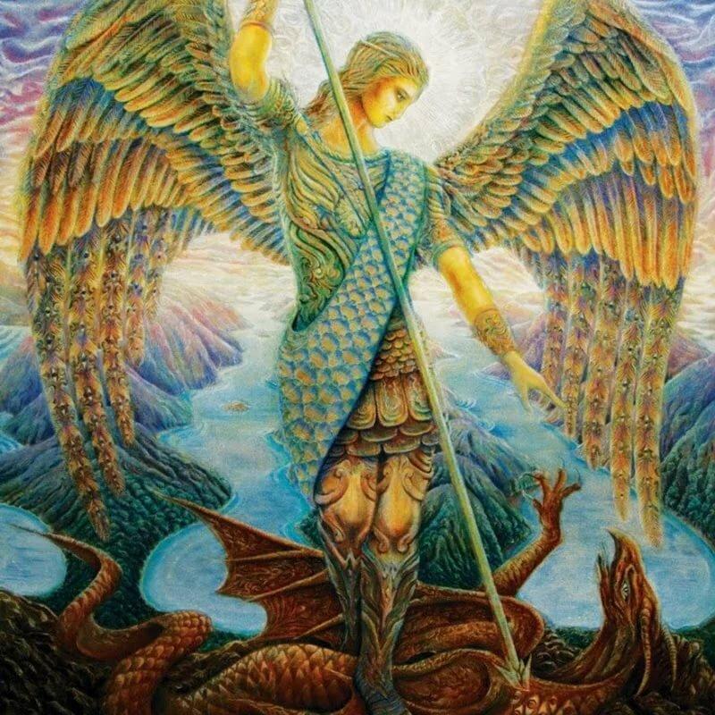Ангелы и змеи в картинках