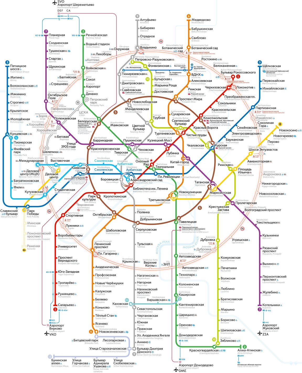 Про дружбу, картинки схема метро