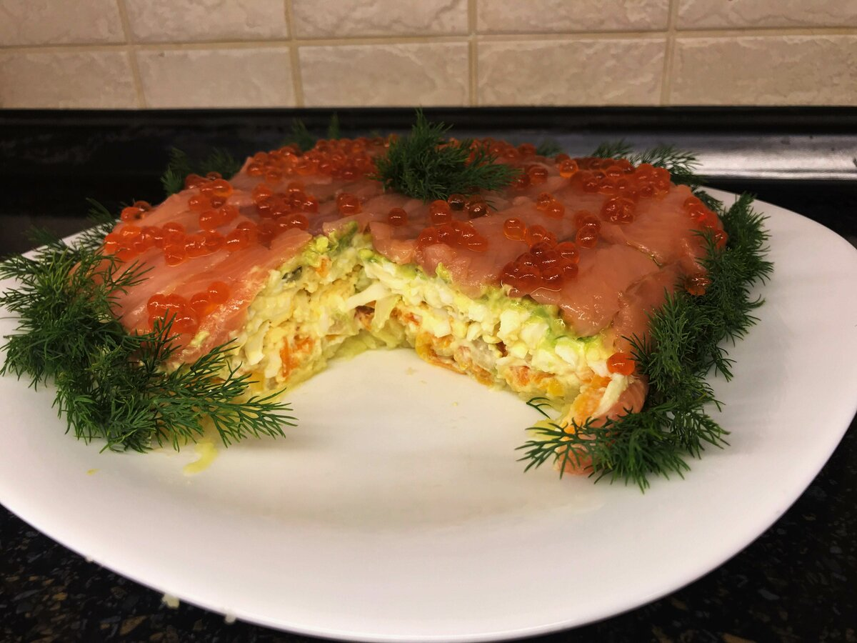 это еще салат из красной рыбы рецепт с фото относилась