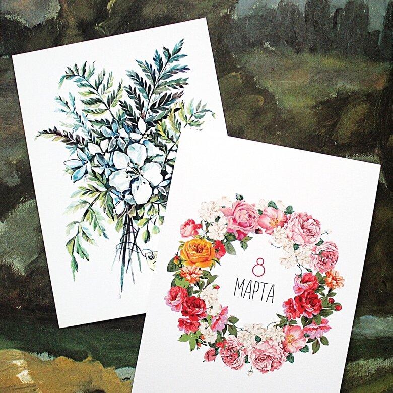 Английскую открытку, открытки две в одной