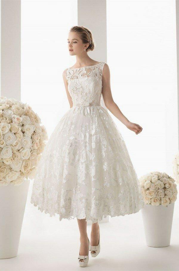 Самые красивые короткие свадебные платья: фото коротких платьев ... | 905x600