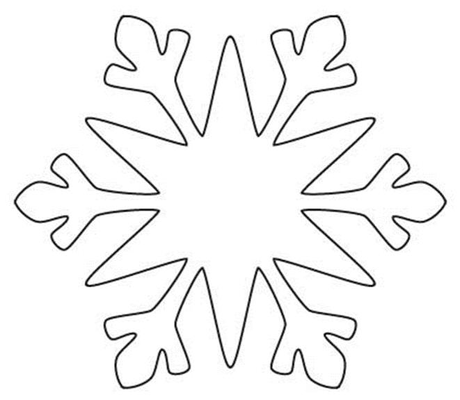 шесть картинки снежинки которые можно вырезать этом случае