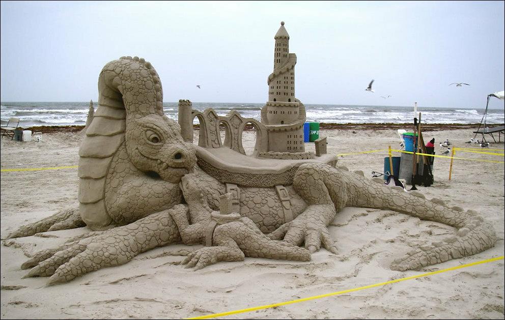интересные картинки из песка