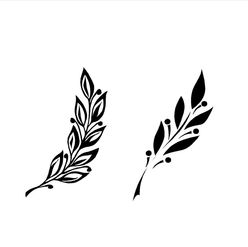 Девчонку листья лавра клипарт вектор поркой женскую