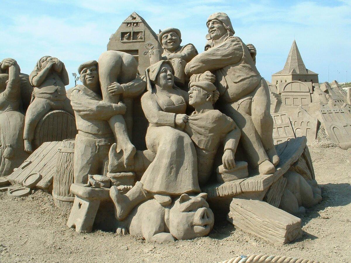 песочные картинки из песка идеи для